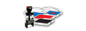 PSI® Self-Inking Dater Replacement Pads
