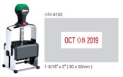 HM-6103 - HM-6103 Heavy Duty Self-Inking Dater