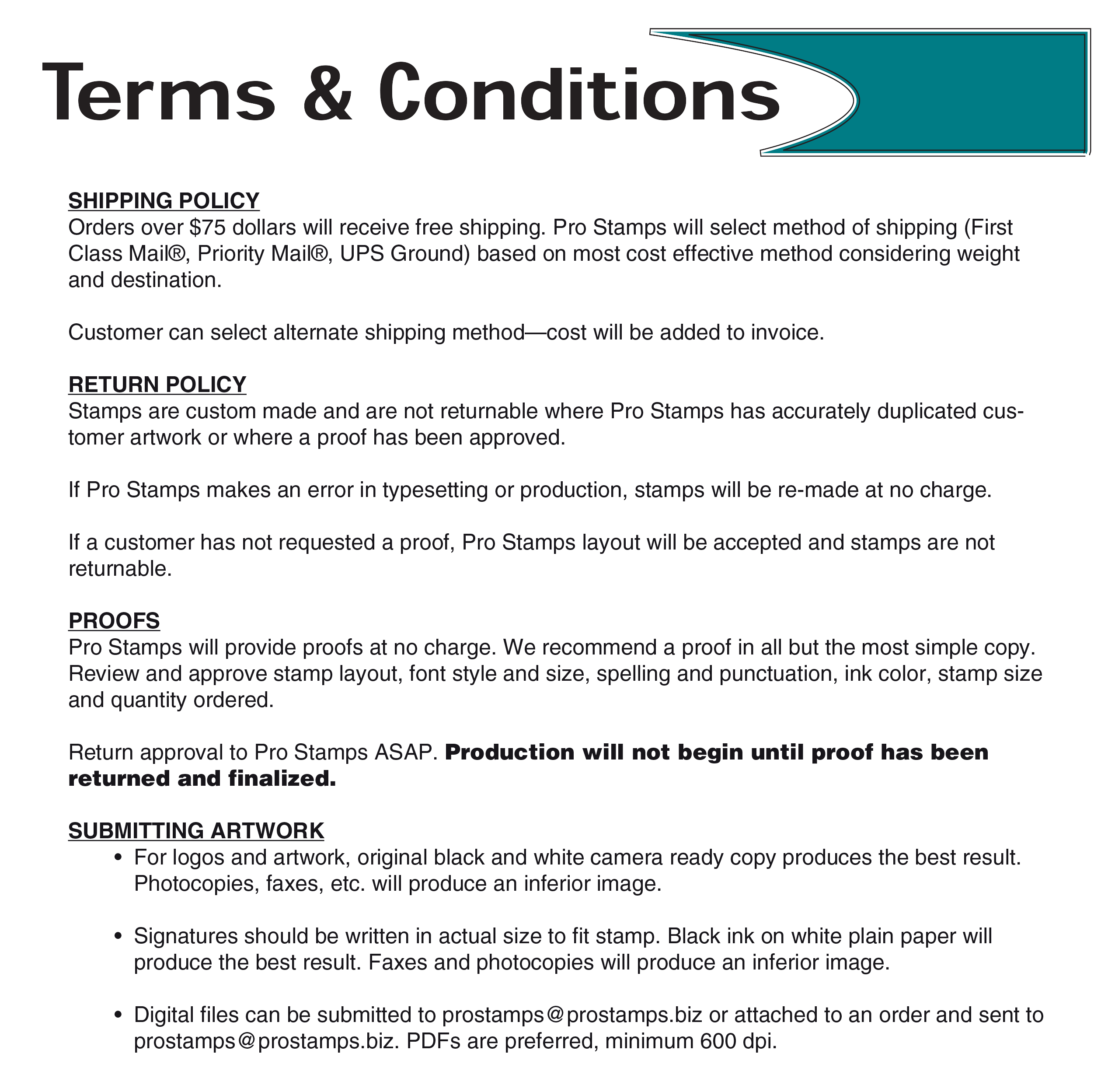 terms amp conditions
