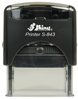 S-843 - S-843 Self-Inking Stamp