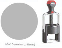 H-6009 - H-6009 Heavy Duty Round Self-Inking Stamp